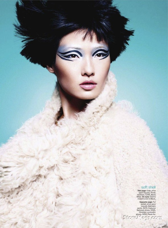 Съёмка: Ван Сяо для Marie Claire. Изображение № 2.