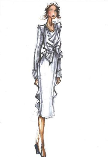 Дизайн одежды дляМишель Обамы. Изображение № 20.