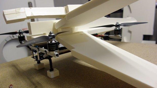 Энтузиаст собрал дрон в виде истребителя X-Wing. Изображение № 6.