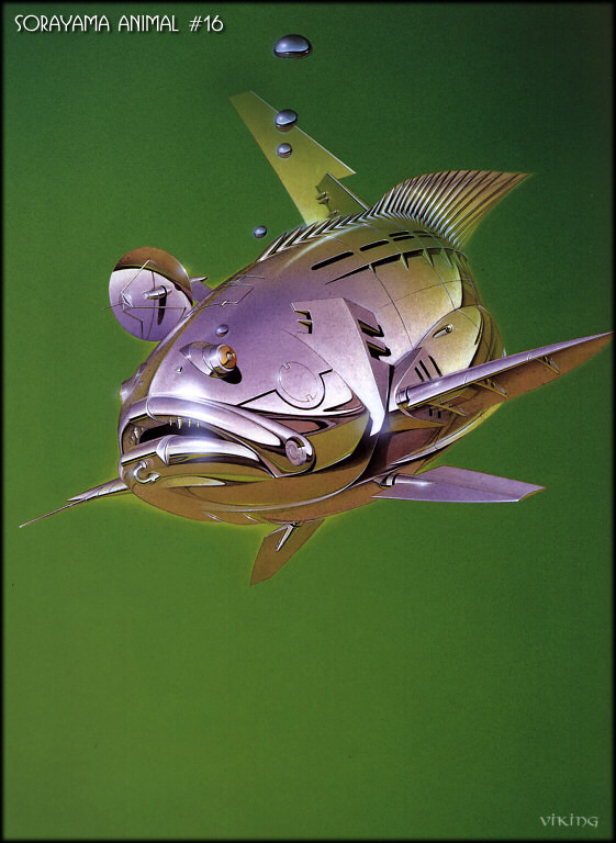 Японский художник Hajime Sorayama. Изображение № 6.