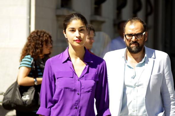 Изображение 13. Девушки на Milan Fashion Week: день 2.. Изображение № 13.