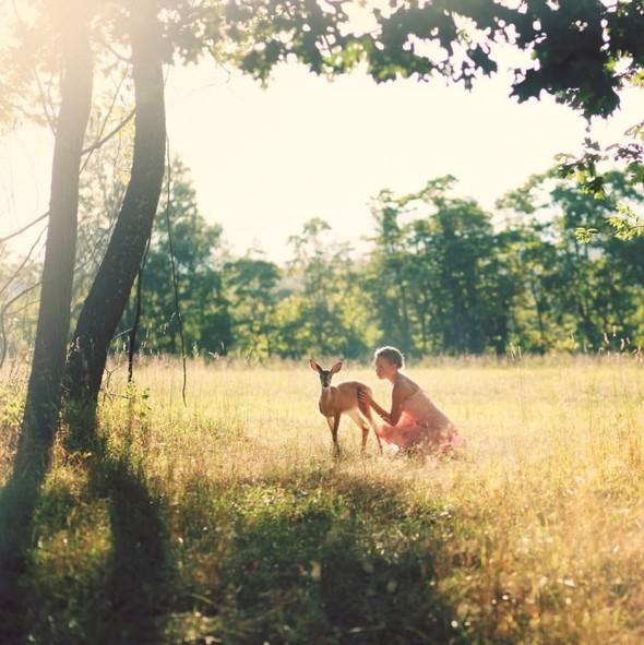 ЭМИЛИ ЛИ : девушка и олень. Изображение № 2.