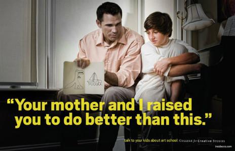 Рекламная кампания об арт-школе с пародией на наркотики. Изображение № 7.
