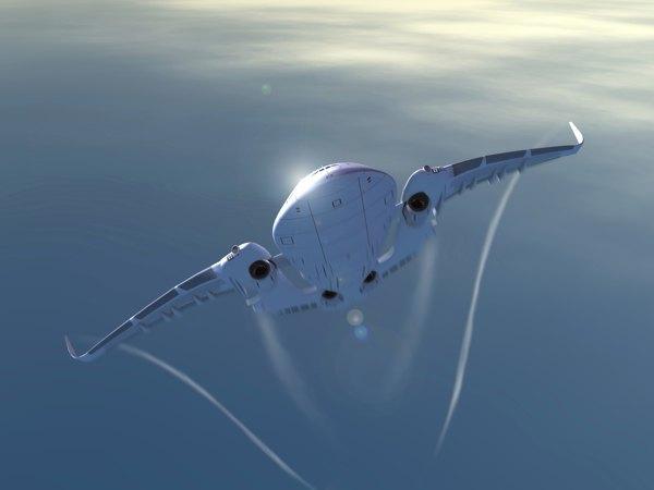 Дизайнер показал проект самолёта будущего. Изображение № 8.