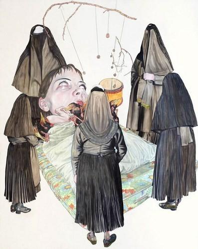 """""""Искусство расширенного сознания"""" в полотнах швейцарского художника. Изображение № 3."""