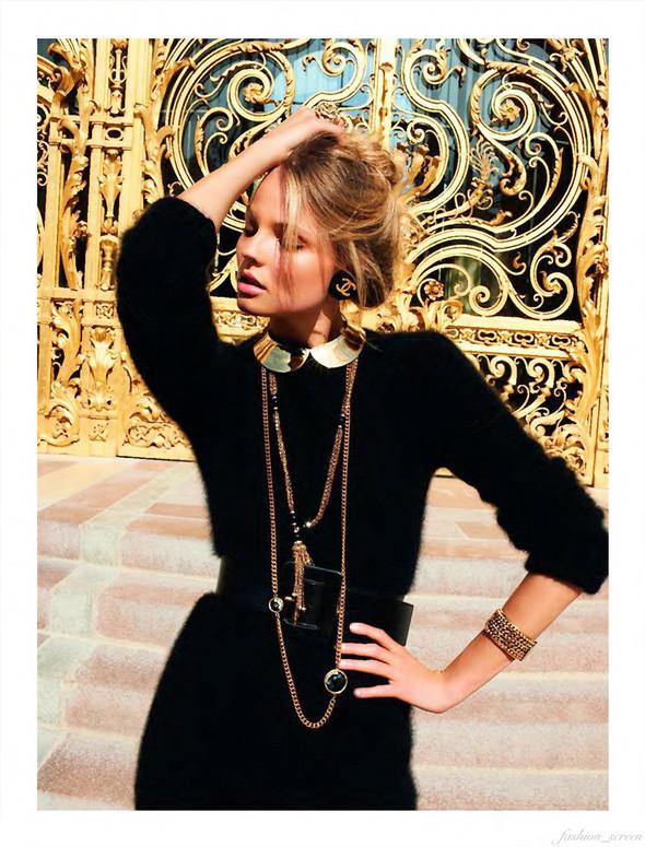 Съёмка: Магдалена Фрацковяк для французского Vogue. Изображение № 6.