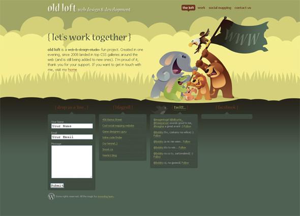 Персонажи в дизайне сайтов. Изображение № 17.
