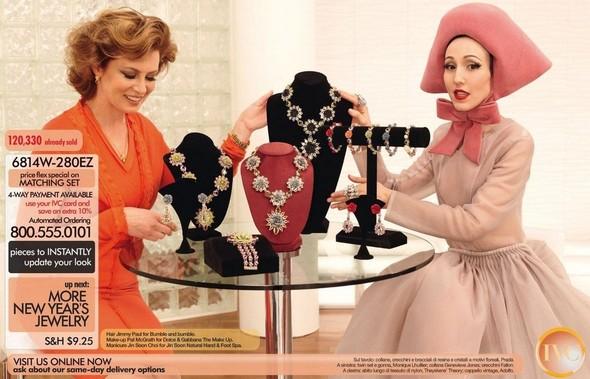 Съёмка: Дарья Строкоус, Карли Клосс, Наташа Поли и другие для итальянского Vogue. Изображение № 10.