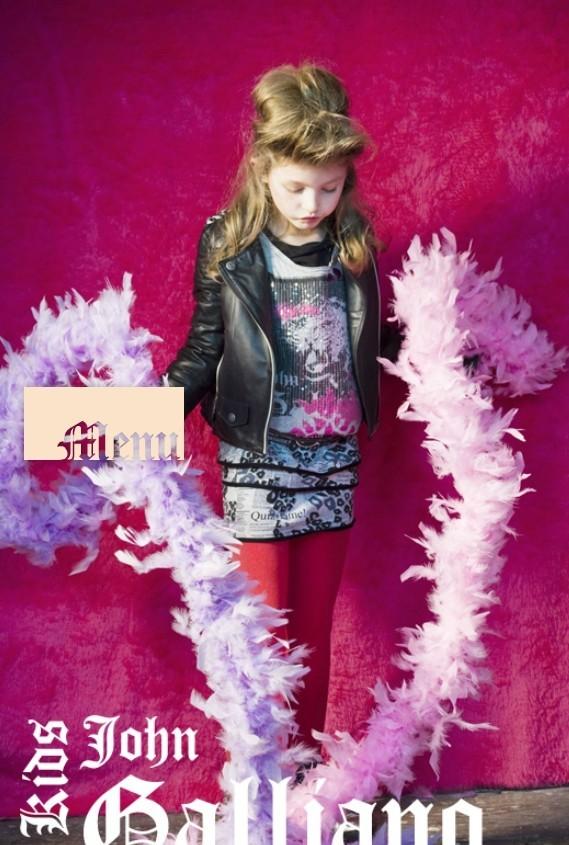 Все лучшее детям: лукбуки D&G, Gucci, John Galliano, Burberry. Изображение № 26.
