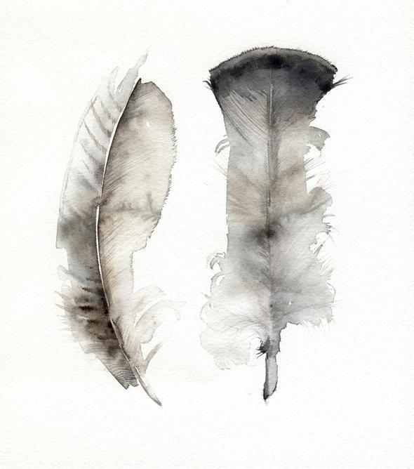 Изображение 56. Amber Alexander - животные, сияющие акварелью.. Изображение № 54.