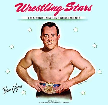 Wrestling Stars забавный ретро – календарь. Изображение № 7.