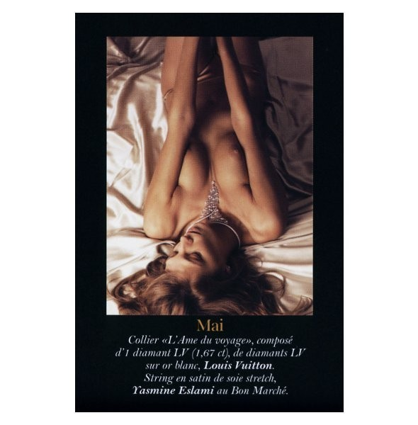 Полная версия календаря французского Vogue на 2011 год. Изображение № 5.