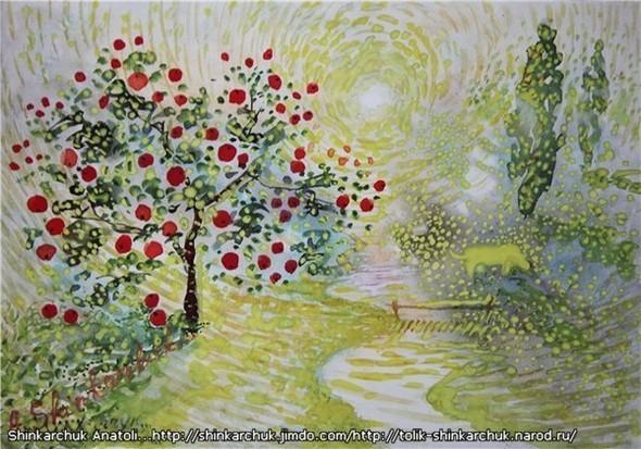 Shinkarchuk Anatoly watercolor and Japan Шинкарчук Анатолий акварель и Япония. Изображение № 8.