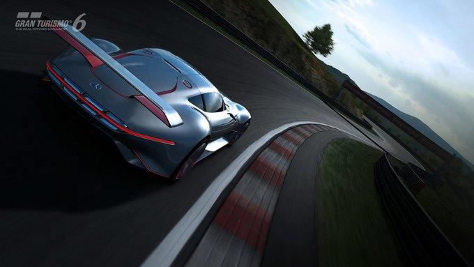 Mercedes-Benz разработала концепт спорткара для новой части Gran Turismo. Изображение № 26.
