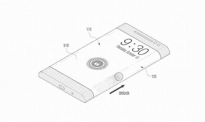 unlock — Боковой дисплей можно использоваться для снятия блокировки смартфона. Изображение № 7.
