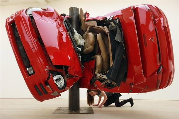 Скульптуры из разбитых машин Dirk Skreber. Изображение № 5.