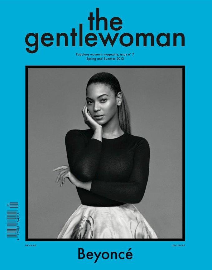 Бейонсе снялась для обложки The Gentlewoman. Изображение № 1.