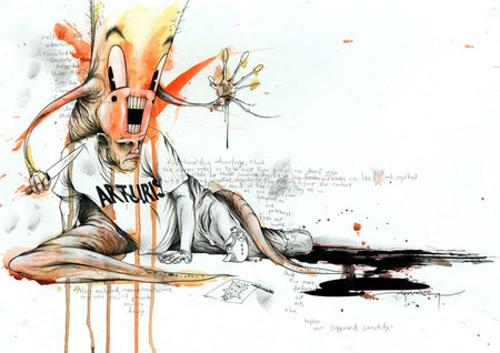 "Alex Pardee ""If i am not creating, i will die. "". Изображение № 6."