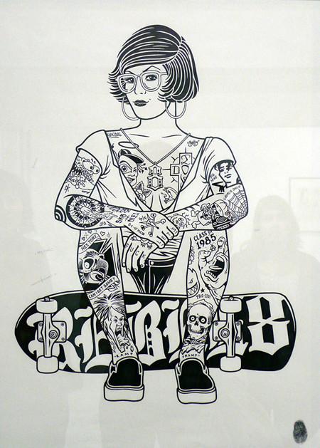 К доске: 10 художников-скейтбордистов. Изображение №56.