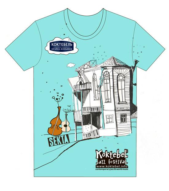 Изображение 94. Кастинг принтов для футболок SEKTA: Koktebel Jazz Fest.. Изображение № 94.