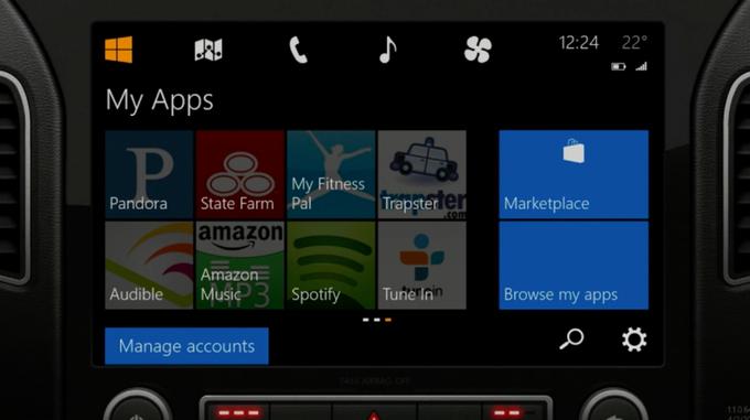 Microsoft представила концепцию Windows для автомобиля . Изображение № 2.