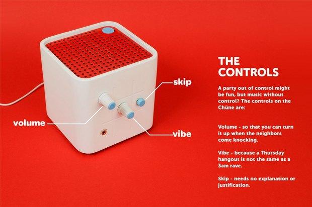 Куб создаёт плейлисты по настроению вечеринки. Изображение № 1.