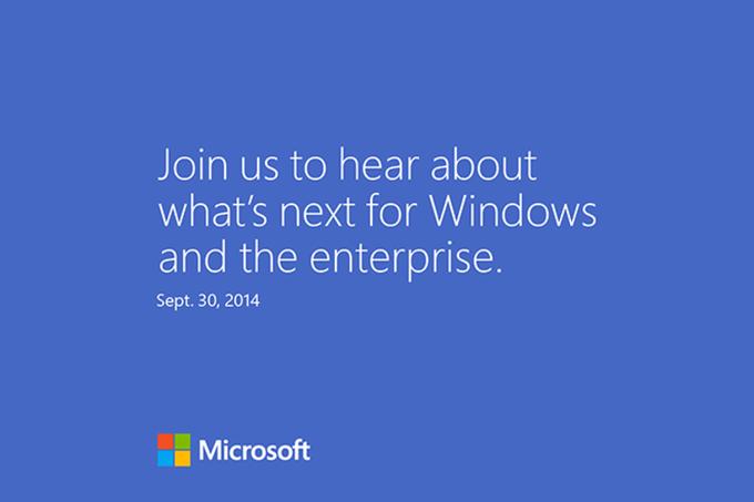 Microsoft покажет новую Windows 30 сентября. Изображение № 1.