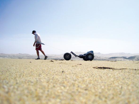 Пересечение пустыни Намиб на кайт-багги. Изображение № 2.