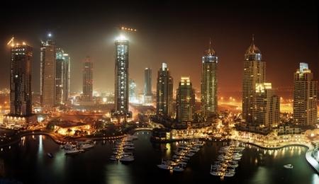 Мегаполисы ночью Гонконг, Дубаи, Нью-Йорк, Шанхай. Изображение № 15.