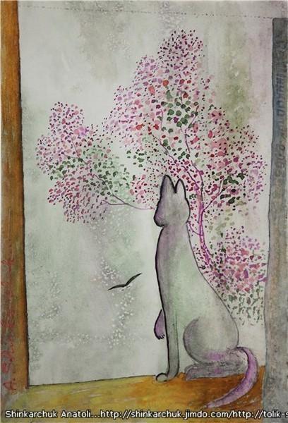 Shinkarchuk Anatoly watercolor and Japan Шинкарчук Анатолий акварель и Япония. Изображение № 9.