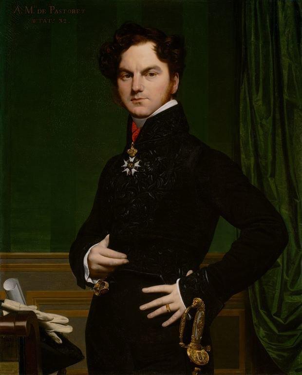 Жан Огюст Доминик Энгр «Амедей-Давид, граф де Пасторе» (1823-1826). Изображение № 8.