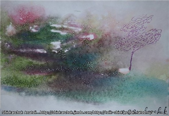 Shinkarchuk Anatoly watercolor and Japan Шинкарчук Анатолий акварель и Япония. Изображение № 15.