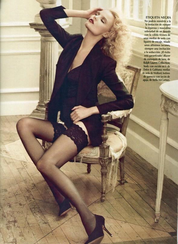 Съёмка: Магдалена Фрацковяк для мексиканского Vogue. Изображение № 2.