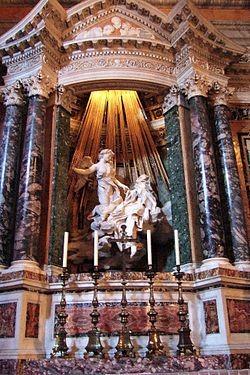 Estasi di santa Teresa d'Avila. Изображение № 1.