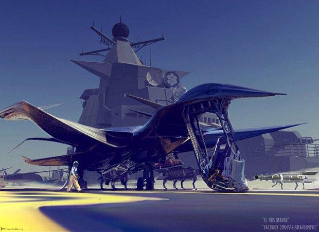 Дизайнер представил биомиметические самолёты. Изображение № 3.