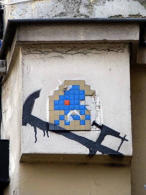 Стрит-арт в Париже. Изображение № 26.
