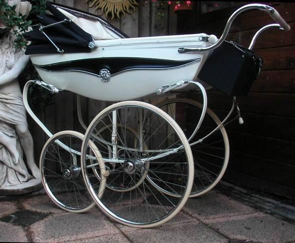 Ретро – kinderwagen, stroller илидетская коляска. Изображение №22.