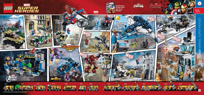 В сеть «утекли» наборы Lego Marvel по «Эре Альтрона». Изображение № 1.