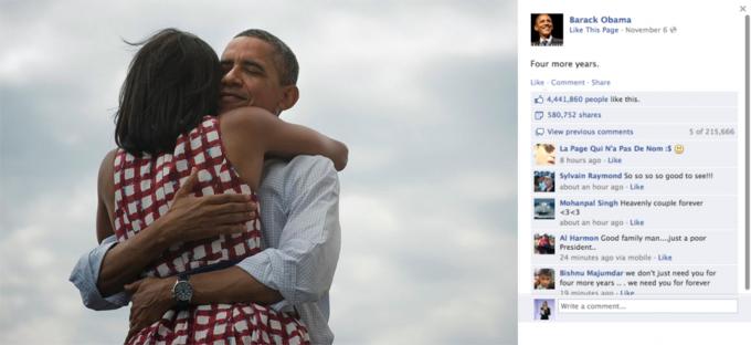 Названы самые популярные фото года в «Фейсбуке». Изображение №1.