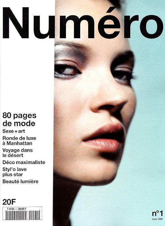 Кейт Мосс, наобложках главных модных журналов планеты. Изображение № 9.