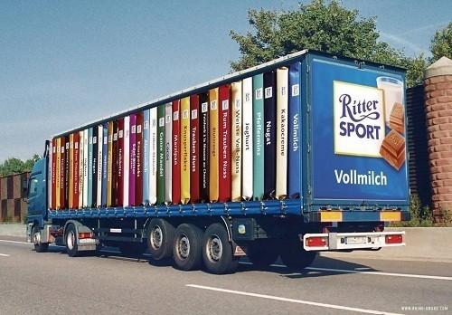 Потрясающая реклама на грузовиках. Изображение № 14.