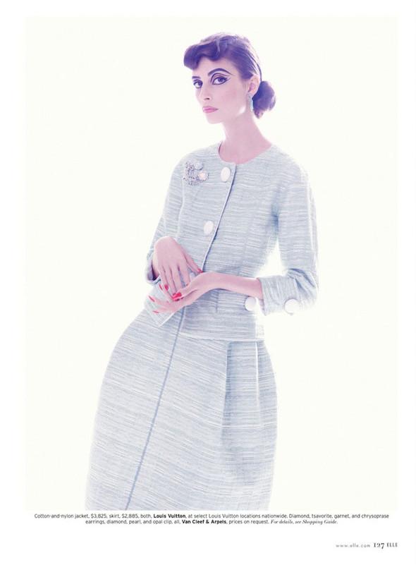Съёмка: Сюзи Берд для Elle. Изображение № 5.