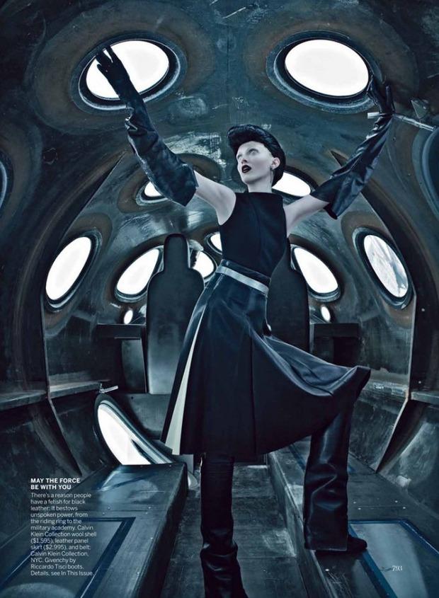 Новые съемки Dazed & Confused, Vogue, i-D и W Magazine. Изображение № 48.