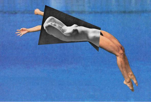 Новая атлетика: Олимпийские виды спорта в коллажах Йена Ульриха. Изображение № 6.