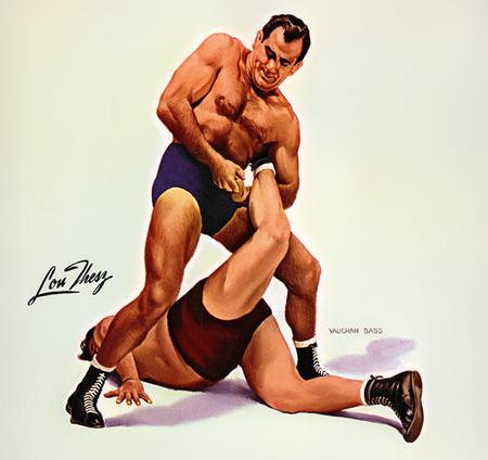 Wrestling Stars забавный ретро – календарь. Изображение № 1.