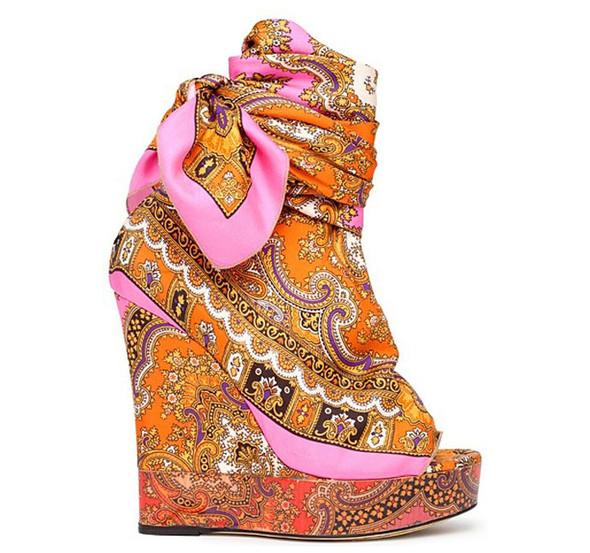 Модная обувь весна-лето 2012 от D&G. Изображение № 4.