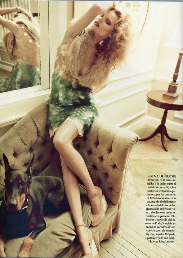 Съёмка: Магдалена Фрацковяк для мексиканского Vogue. Изображение № 8.