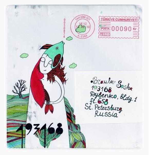 Mail art: почтовые радости своими руками. Изображение № 9.