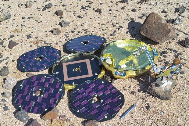 На Марсе нашли пропавший 12 лет назад аппарат. Изображение № 1.