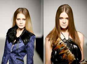 London Fashion Week. Hairlooks. Part 2. Изображение № 1.